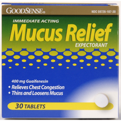 MON17602700 - Geiss, Destin & DunnMucus Relief GoodSense® Tablet 400 mg 30 per Box