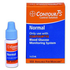 MON18582400 - BayerContour® TS Blood Glucose Testing Control Solution