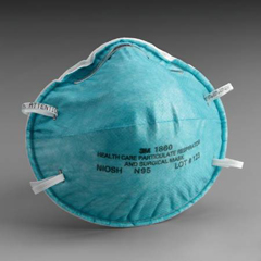 MON18611100 - 3MHealth Care Particulate Respirator and Surgical Mask
