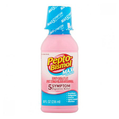 MON19022700 - Procter & GambleAnti diarrheal Pepto-Bismo® Max Oral Suspension 8 oz., 1 Bottle