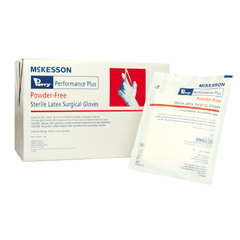 MON20751300 - McKessonSterile Latex Surgical Glove Powder-Free Sterile Size 7 1/2