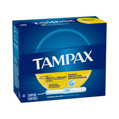 MON21101700 - Procter & GambleTampon Tampax Regular Absorbency Cardboard Applicator