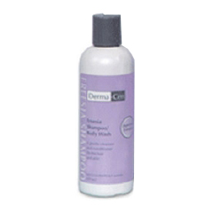 MON23361800 - Central SolutionsShampoo and Body Wash DermaCen 8.5 oz. Freesia Squeeze Bottle