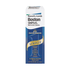 MON24672700 - Bausch & LombContact Lens Solution Boston Simplus 3.5 oz.