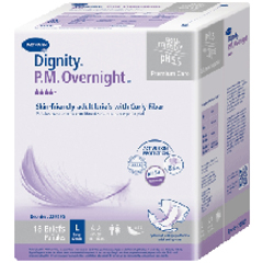 MON24933100 - HartmannIncontinent Brief Dignity P.M Overnight Tab Closure Medium Disposable Heavy Absorbency