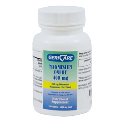 MON25452712 - Geri-CareAntacid 400 mg Strength Tablet 120 per Bottle