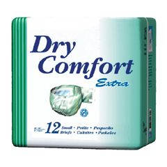 MON30263100 - SCAIncontinent Brief Dry Comfort Tab Closure Medium Disposable Moderate Absorbency