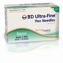 MON32222800 - BDUltra Fine Insulin Pen Needle
