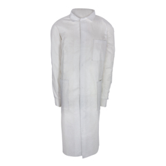 MON33648500 - McKessonLab Coat White 2 X-Large Long Sleeve Mid Length