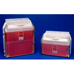 MON35532801 - MedtronicSharps-A-Gator™ Wall Cabinet, For Safety In Room Container, 5 Quart