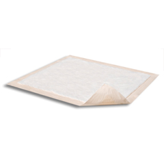 MON36013110 - AttendsUnderpad Dri-Sorb® Plus 30 X 36 Inch Disposable Polymer / Cellulose Fiber Moderate Absorbency, 10/BG