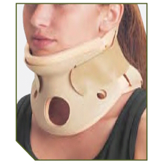 MON37433000 - DJOCervical Collar Turtle Neck® Small, Regular Two Piece 4-1/4 Inch Height 10 to 12 Inch Circumference