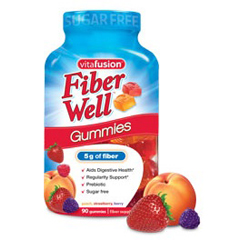 MON40592700 - VitafusionFiber Well™ Supplement Gummies, 90 per Bottle