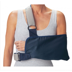MON41653000 - DJOShoulder Immobilizer Cinch-Lock® Medium Cotton / Poly / Foam Contact Closure