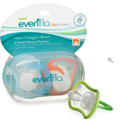 MON42161700 - EvenfloPacifier Bebek® 0 to 3 Months, 2EA/PK