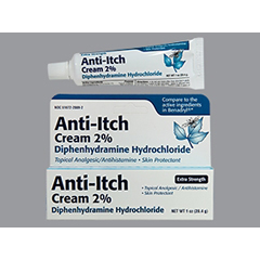 MON43302700 - TaroItch Relief 2% Strength Cream 1 oz. Tube