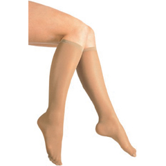 MON43623000 - Scott SpecialtiesCompression Stockings Knee-high Small Beige Closed Toe
