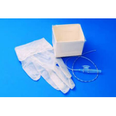 MON48964000 - CarefusionSuction Catheter Kit AirLife Cath-N-Glove 18 Fr. NonSterile