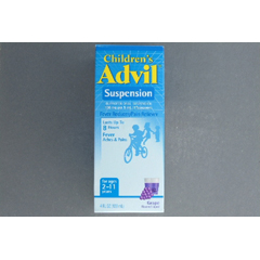 MON49792700 - PfizerChildrens Pain Relief Advil 100 mg / 5 mL Strength Liquid 4 oz.