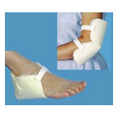 MON50053000 - EssentialHeel Protector Pad Sheepette® One Size Fits Most White