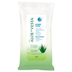 MON55211800 - ConvaTecAloe Vesta® Bathing Cloths
