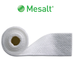 MON55802100 - Molnlycke HealthcareMesalt Impregnated Absorbent Dressing 4in x 4in Folded To 2in x 2in