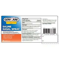 MON59872700 - McKessonNasal Spray 0.65% / 1 mL Strength 3 oz.