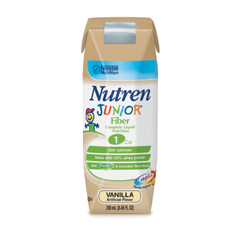 MON60632600 - Nestle Healthcare NutritionNutren Junior with Fiber 250ml/8 Ounce Can