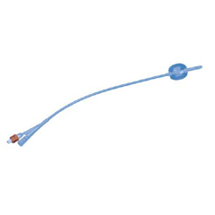 MON61191901 - ColoplastFoley Catheter Cysto-Care 2-Way Standard Tip 15 cc Balloon 20 Fr. Silicone