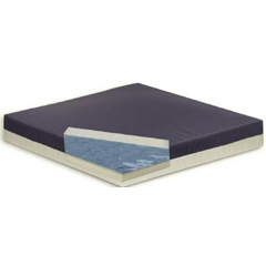 MON62134300 - Bluechip MedicalSeat Cushion Gel Pro® Elite 17 X 17 X 2-1/2 Inch Gel / Foam