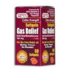 MON65922700 - Major PharmaceuticalsGas Relief 180 mg Strength Softgel 60 per Bottle