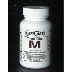 MON66402700 - McKessonMultivitamin Supplement with Minerals Caplets, 100EA per Bottle