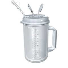 MON68402900 - WhirleyThermo Mug 32 oz. Clear / Granite, 50EA/CS