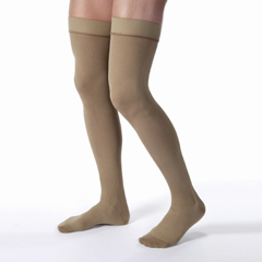 MON72230300 - JobstUltraSheer Thigh-High Compression Stockings