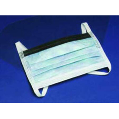 MON74311100 - CardinalSurgical Mask Secure-Gard® Pleated Earloops One Size Fits Most, 50/BX