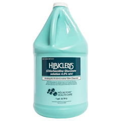 MON75911800 - Molnlycke HealthcareHibiclens Antimicrobial Skin Cleanser 1 Gallon Bottle 4% Solution