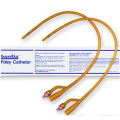 MON80231912 - Bard MedicalFoley Catheter 2-Way 30 cc Balloon 12 Fr. Silicone Coated Latex