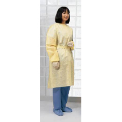 MON80431100 - CardinalIsolation Gown X-Large Spunbonded Polypropylene Yellow Adult, 10EA/PK 10PK/CS