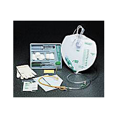 MON84971900 - Bard MedicalIndwelling Catheter Tray Bard Lubricath Foley 14 Fr. 5 cc Balloon Hydrogel Coated Latex