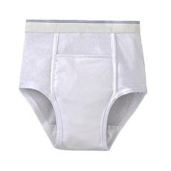 MON86108600 - Murray SalkHealthDri® 6 oz Capacity Pull On Protective Underwear, White, Small