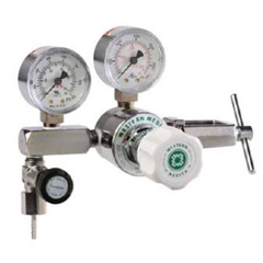 MON87703900 - Western MedicalOxygen Pressure Regulator Adjustable Single Stage 0 - 100 PSI