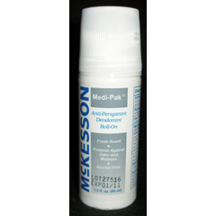 MON90151706 - McKessonDeodorant Medi-Pak® Roll-On 1.5 oz. Fresh Scent, 96EA/CS
