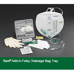 MON90761900 - Bard MedicalIndwelling Catheter Tray Bard Add-A-Foley Foley Without Catheter