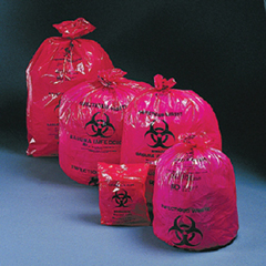 MON95121100 - McKessonInfectious Waste Bag Medi-Pak® SAF-T-SEAL® 40 X 46 Inch Printed, 200EA/CS