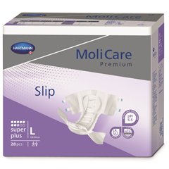 MON96503100 - HartmannIncontinent Brief Molicare Tab Closure Medium Disposable Heavy Absorbency