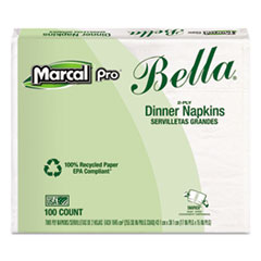 MRC06410 - Marcal PRO™ 100% Premium Recycled Bella® SnapPac® Dinner Napkins