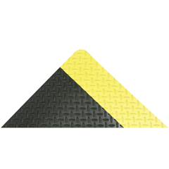 NTX509S0035YB - NoTrax509 Diamond-Tuff 3X5 Black/Yellow