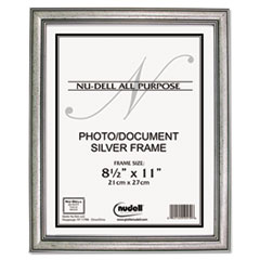 NUD14285 - NuDell™ Antique Silver Finish Frame