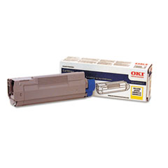 OKI43324417 - Oki 43324417 Toner, 5000 Page-Yield, Yellow