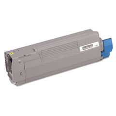 OKI43381901 - Oki 43381901 Toner (Type C8), 2000 Page-Yield, Yellow